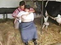 Oversized Woman Terrorised Tiny Yokel