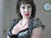 Hot Mature Brit Blowjob In Stockings Amp Heels